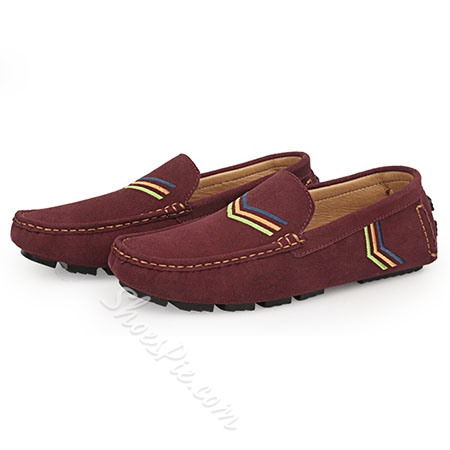 Shoespie High quality Suede Stitch Desigh Men's Loafers