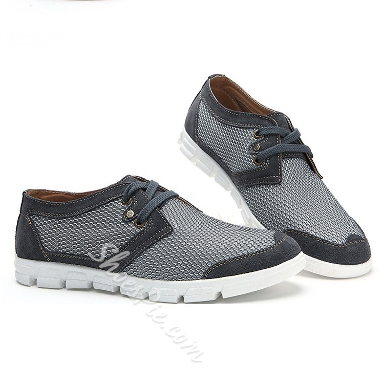 Shoespie Comfortable Mesh Contrast Color Men's Sandals