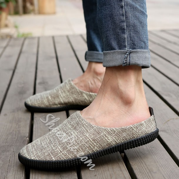 Shoespie Summer Cloth Men's Loafers