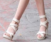 Shoespie Wrap Buckle Decorated Dress Sandals