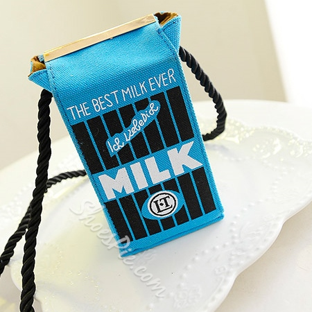Shoespie Chic MILK Crossbody Handbag