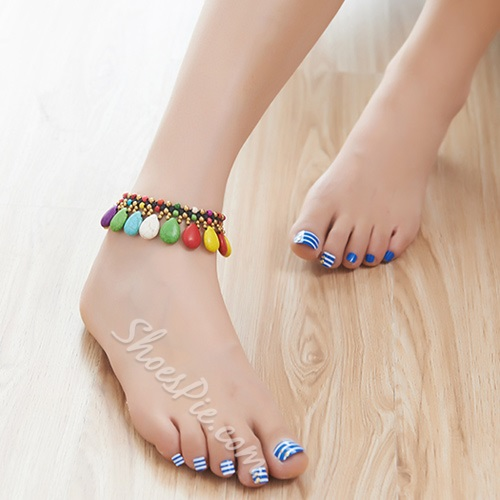 Shoespie Rainbow Anklet