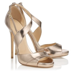 Shoespie Stiletto Heel Cut Out Dress Sandals