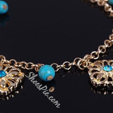Shoespie Beading Chain Anklet