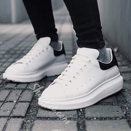 Shoespie Lace Up Sneakers