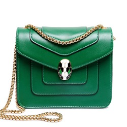 Shoespie Candy Color Chain Crossbody Handbag