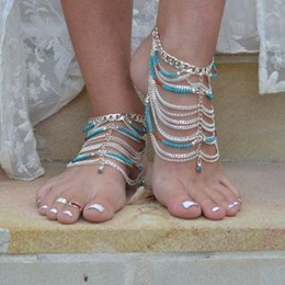 Shoespie Colorful Chain Anklet