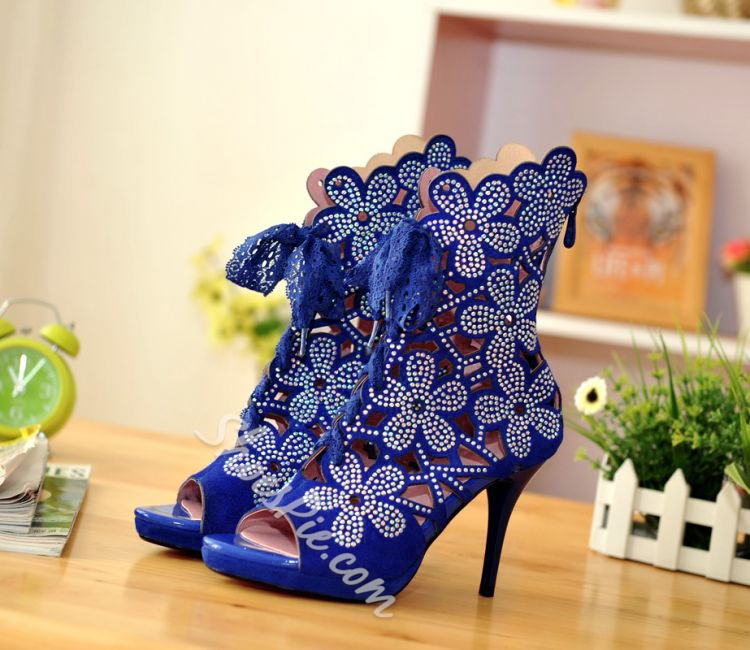 Shoespie Cutout Stiletto Heel Dress Sandal