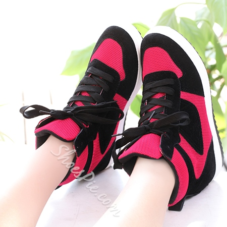 Shoespie Assorted Color Lace-up Sneaker