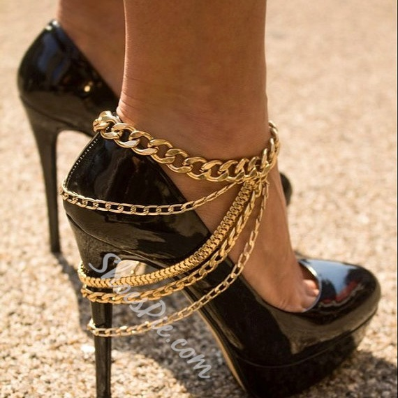 Shoespie Chain Metal Anklet
