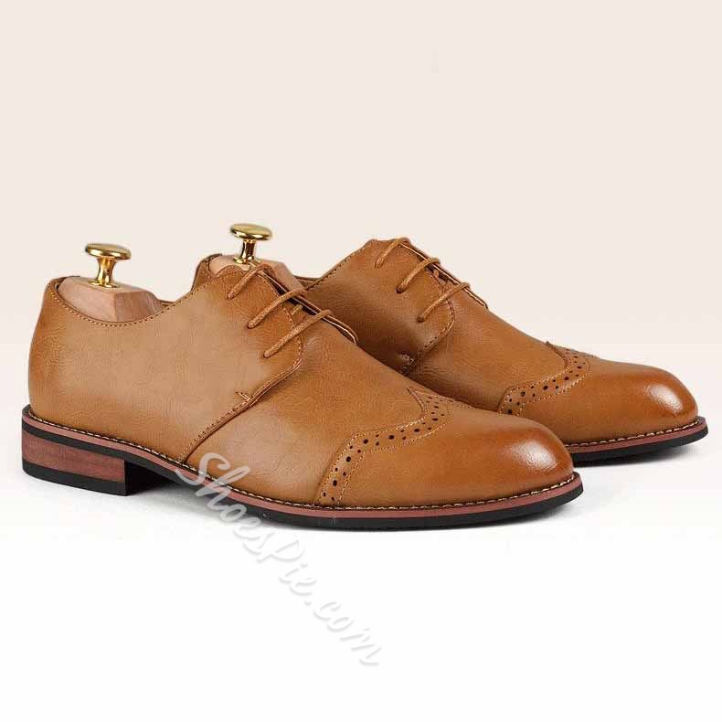 Shoespie Lace up Men's Oxfords