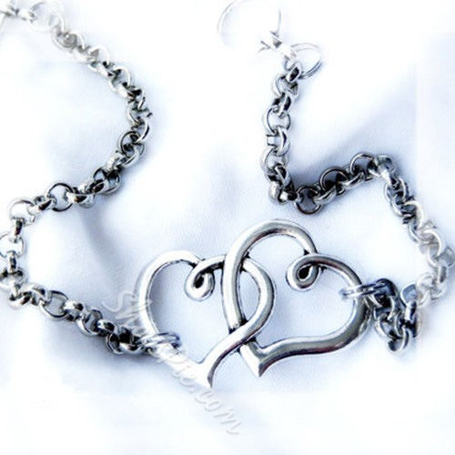 Shoespie Heart Decoration Anklet