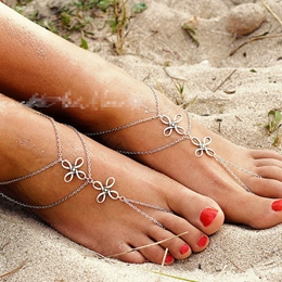 Shoespie Thong Anklets