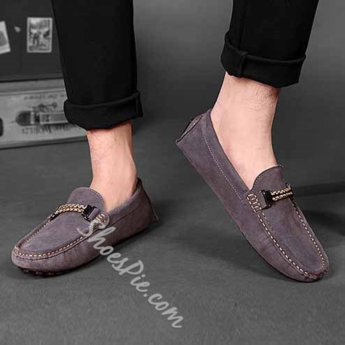 Shoespie Suede Men's Loafers