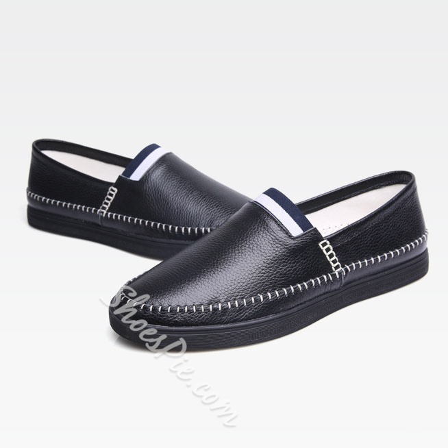 Shoespie Leather Men's Loafers