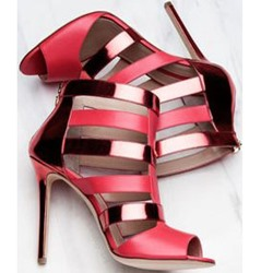 Shoespie Patent Leather Dress Sandals