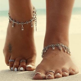 Shoespie Retro Tassels Anklet