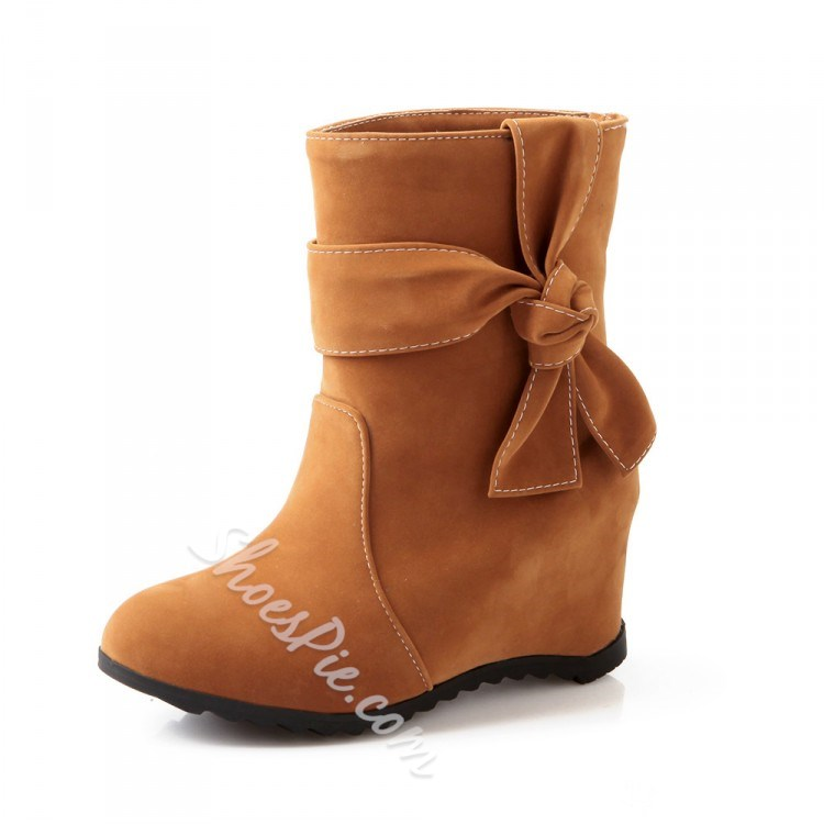 Shoespie Wedge Heels Ankle Boots