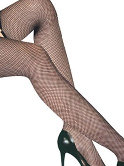 Shoespie Mesh Solid Color Stockings