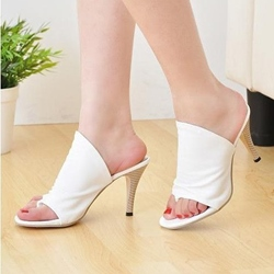 Shoespie Solid Color Dress Slippers