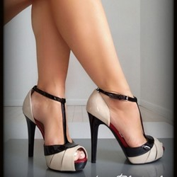 Shoespie Peep Toe Buckle Dress Sandals