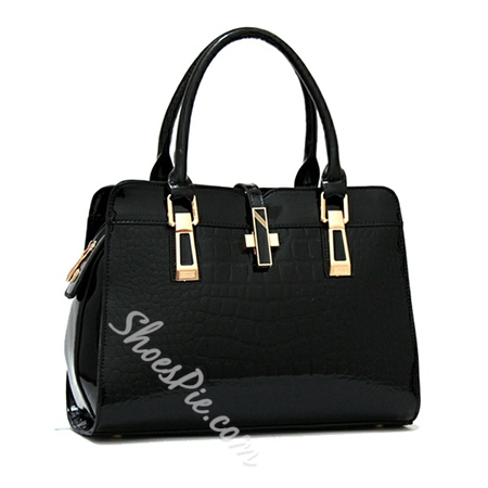Shoespie Crocodile Grain PU Women's Tote Bag