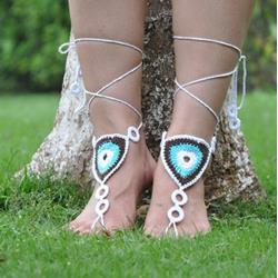 Shoespie Wrap Thong Anklet