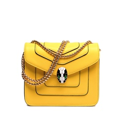 Shoespie Vintage Enamelled Snake Crossbody Bag