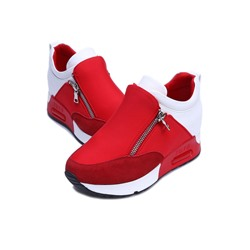 Shoespie Side Zipped Casual Shoes