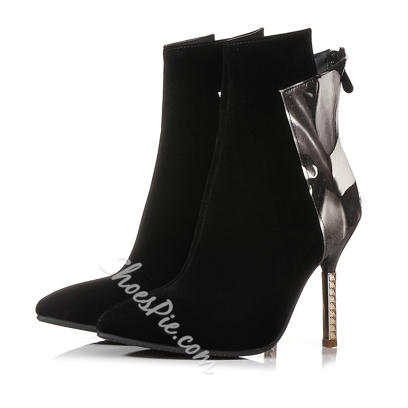 Shoespie Pointed toe Banquet Stiletto Heel Ankle Boots