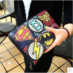 Shoespie Print Clutch Handbag