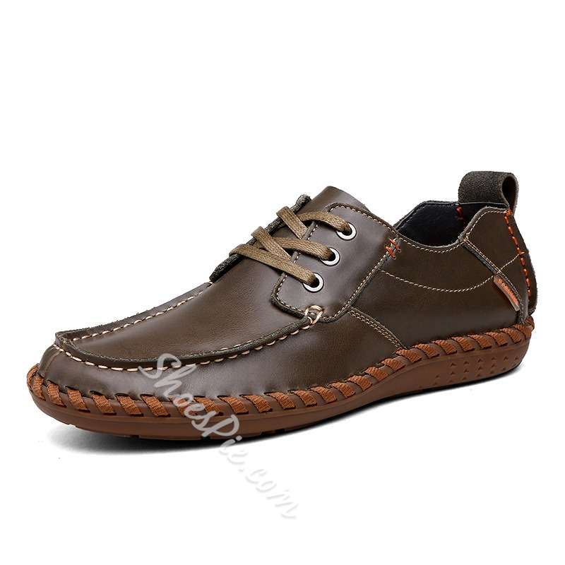 Shoespie Brown Men's Loafers
