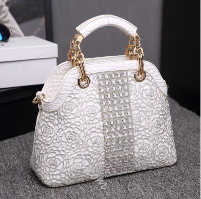Shoespie Lace Tote Handbag