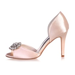 Shoespie Rhinestone Flower Dress Sandals