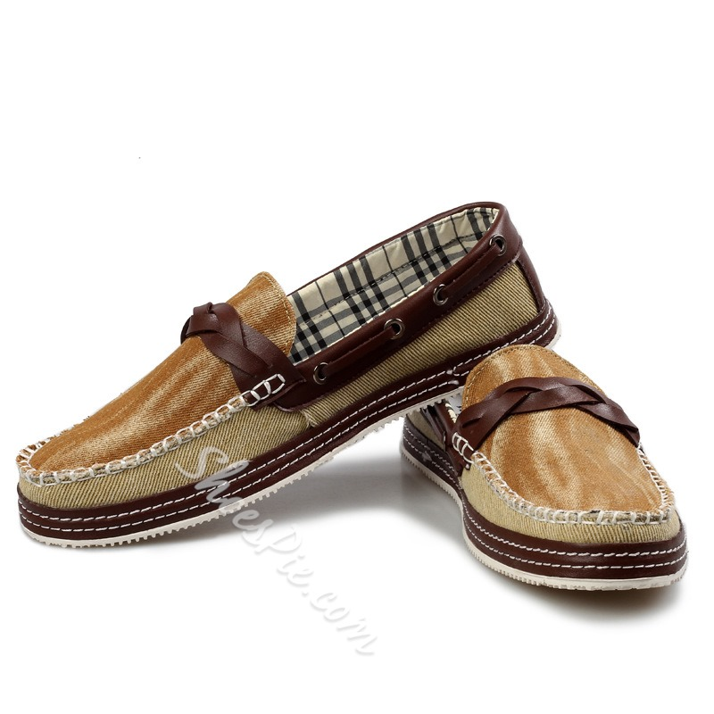 Shoespie Denim Men's Loafers