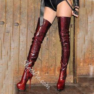 Shoespie Fashionable Zipper Over Knee High Boots