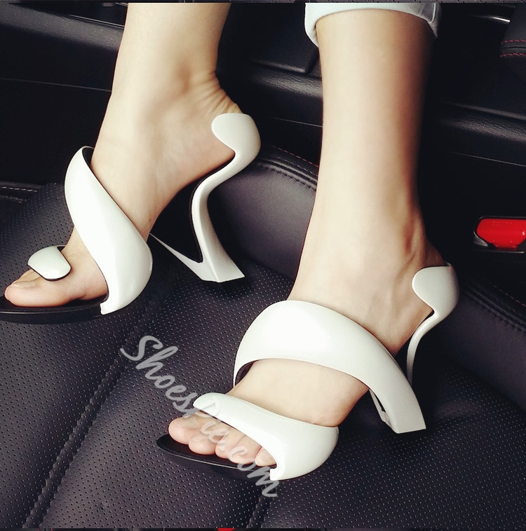 Shoespie Amazing Strange Heel Dress Sandals