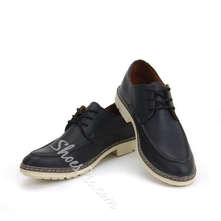 Shoespie Comfortable Lace up Men's Oxfords