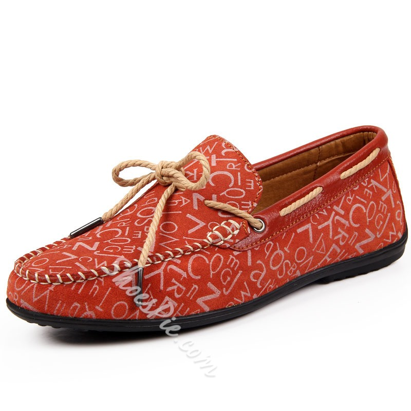 Shoespie Chic Print Men's Loafers
