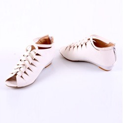 Shoespie Cut-out Flat Sandals