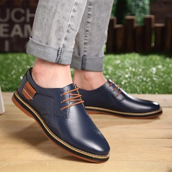 Shoespie Elegant Lace up Men's Oxfords