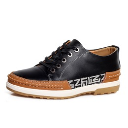 ShoespieLace-Up Thread Men's Sneakers