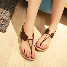 Shoespie Concise Thong Flat Sandals