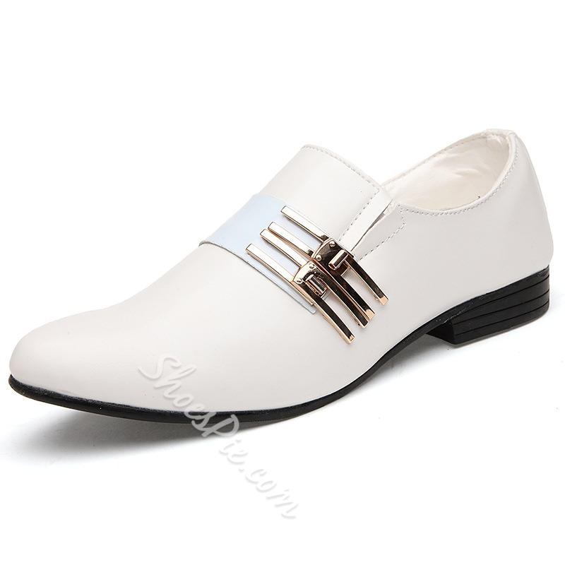 Shoespie Pointed Toe Men's Oxfords