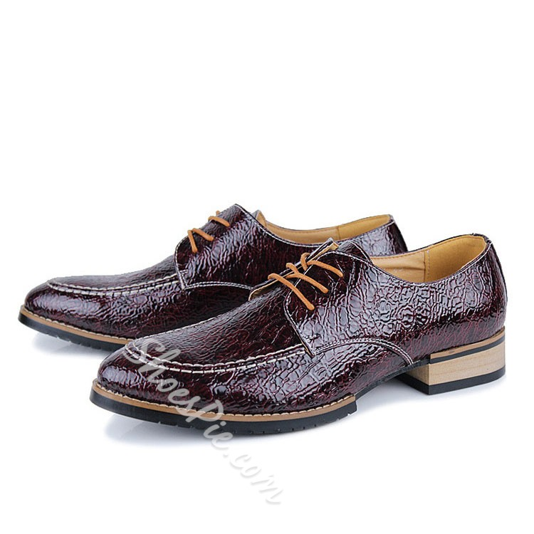 Shoespie Men's Oxfords