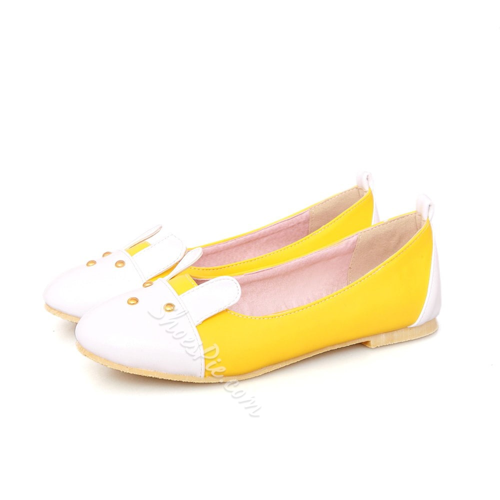 Shoespie Assorted Color Carton Loafers