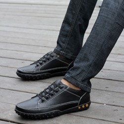 Shoespie Lace Up Men's Loafers