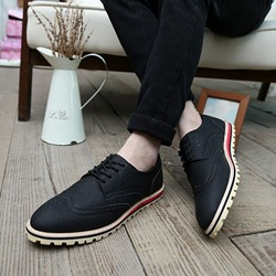 Shoespie Lace-Up Casual Men's Oxfords