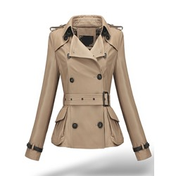 PU Standard Slim Women's PU Jacket