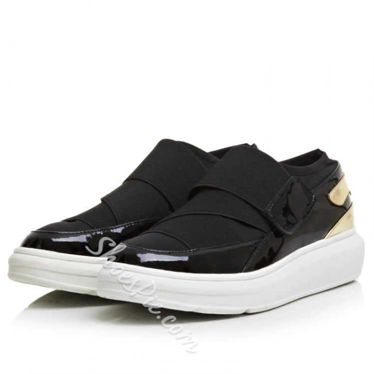 Shoespie Patent Leather Sneaker